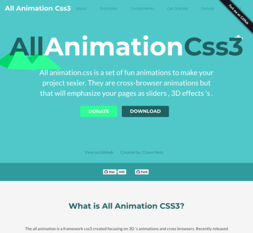 all animation css3